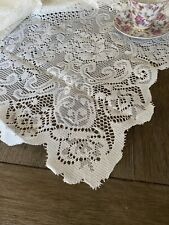 "White Lace Tablecloth 70x50"" NWOT 💖"