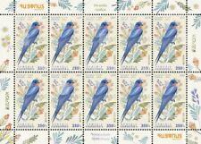 Armenia MNH** 2019 International. Europa Europe National birds Hirundo rustica