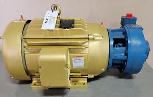 Peerless NSPE1752 1x2-7 Centrifugal Pump 200 GPM @ 200' TDH, 20 HP, 230/460