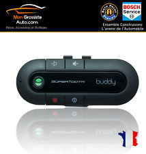 Kits mains libres Bluetooth voiture Supertooth Buddy Noir + Chargeur Voiture