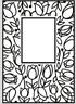 Crafts Too A6 Embossing Folder TULIP WINDOW CTFD3051