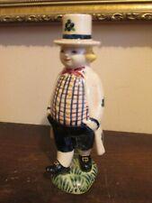 Jus Denmark Royal Copenhagen Aluminia Faience Boy Figurine