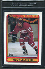 1990 Topps Theo Fleury #386 Mint