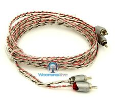 MEMPHIS ETP-7 7 FEET FOOT 2 CHANNEL TWISTED AUDIO RCA JACK AMPLIFIER CABLE WIRE