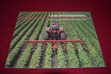 Case International Row Crop Cultivators & Rotary Hoes Dealer's Brochure GDSD