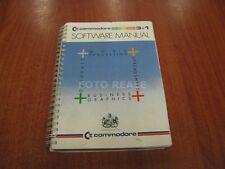 COMMODORE 3+1 SOFTWARE MANUAL WORD PROCESSING DATABASE SPEADSHEET IN INGLESE