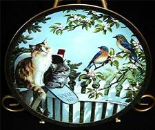 Nosy Neighbors Special Delivery Persis Weirs CAT KITTEN Bradford Exchange Plate