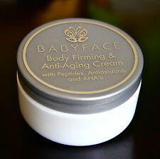 Babyface BODY FIRMING Cream Skin Tightening Cellulite AntiAging Peptides Vit C