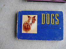 1941 Book Blue Book of Dogs by Logan Illustrated