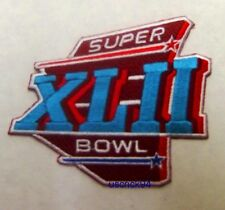 Super Bowl Superbowl 42 XLII Patch New York Giants vs New England Patriots