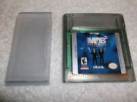 NINTENDO GAME BOY COLOR MIB2 MEN IN BLACK 2 THE SERIES 1998 WITH PROTECTOR