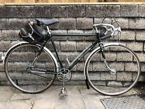 """Vintage 1948 Raleigh Record Ace RRA No 26 21.5"""" Gents Touring Road Race Bicycle"""