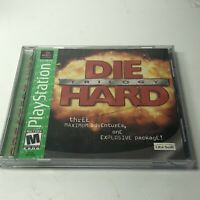 Die Hard Trilogy 1 GH Greatest Hits (Sony Playstation 1 ps1) Complete TESTED