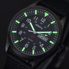 INFANTRY Herren Quarzuhr Armbanduhr Uhr Tag Datum Herrenuhr Russische Design