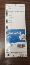 Pyramid Time Cards (QTY 100)