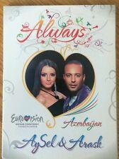 """NEW AYSEL & ARAS AZERBAIJAN EUROVISION 2009 PROMO CD """"ALWAYS"""""""