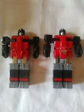 transformers g1 Spectro Lot Of 2 Microx