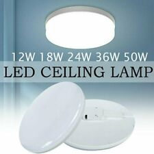 50W LED Surface Mount Fixture Ceiling Light Bedroom Kitchen Round Panel Lights