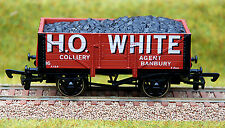 """4mm /OO GAUGE LIMITED EDITION COAL WAGON """"H O WHITE"""""""