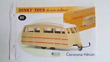 Dinky Toys Atlas - Fascicule SEUL de la Caravane Hénon (Booklet only)