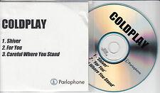 COLDPLAY Shiver rare 2000 UK 3-trk promo test CD
