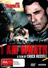 I AM WRATH New Dvd JOHN TRAVOLTA ***