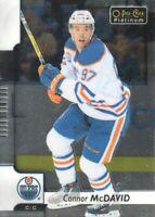 2017-18 O-Pee-Chee Platinum #50 Connor McDavid Edmonton Oilers