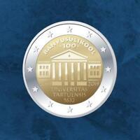 Estland - 100 Jahre Universität Tartu - 2 Euro 2019 unc. - Tartuensis