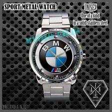 BMW IM Power Series Wheel elegan Logo Sport METAL WATCH Man N Woman