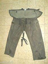 Idf Zahal RABINTEX NBC Charcoal Protective Pants RARE MADE IN ISRAEL. Military