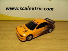"Scalextric-Subaru Impreza 'street voiture"" - NEUF voiture retiré de Set."