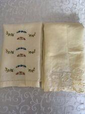 New listing Vintage/Antique Linen Finger Tip Towels Delicate Pretty