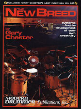 Gary Chester: The New Breed (Book/Online Audio) Drums Book, Downloads Instrument