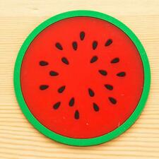 Fruit Coaster Mat Colorful Silicone Cup Drinks Holder Tableware Placemat a1