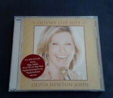 OLIVIA NEWTON-JOHN CD - OLIVIA'S LIVE HITS