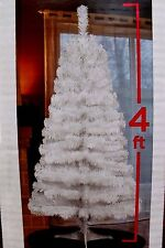 4FT WHITE COLORADO PINE ARTIFICIAL CHRISTMAS VALENTINES DAY TREE UNLIT TABLETOP
