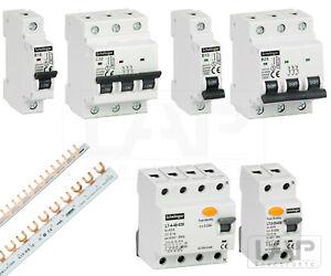 💡Leitungsschutzschalter FI-Schalter Hauptschalter Sicherungsautomat 10-63A LS💡