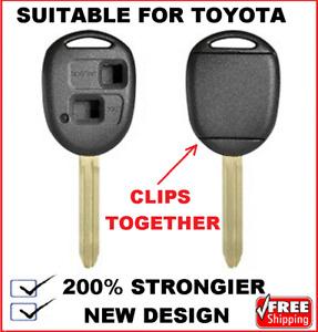 REMOTE CAR KEY SHELL SUITABLE FOR TOYOTA Tarago Corolla Kluger Aurion Prado Rav4