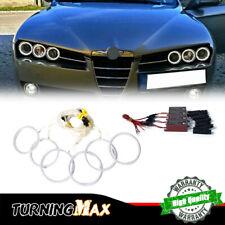 3014-SMD LED Lights Angel Eyes Headlights Retrofit For 2005-2011 Alfa Romeo 159