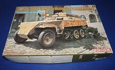 Dragon SdKfz 250/1 NEU German Armored Personnel Carrier 1/35 +resin storage bin