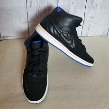 4d4677f34944a1 Nike Men s Air Jordan 1 Retro 99 Athletic Sneakers Size 11.5 Black Sport  Blue