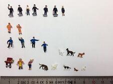 N scale figures