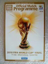 2010 FIFA World Cup Final Special Souvenir Edition (VG*, Org*)