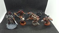 Chaos Space Marine Dark Vengeance Lord Kranon,  Aspiring Champion, and Chosen