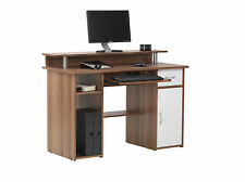 Alphason Office Alabama French Walnut Computer Desk Workstation AW12362-W