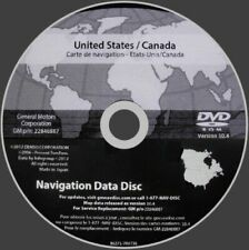 2003 2004 2005 2006 Cadillac Escalade North America Navigation Dvd Map 22846887 (Fits: More than one vehicle)