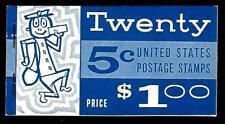 1¢ WONDER'S ~ 1966 MNH STAMP BOOKLET W/ 5¢ GEORGE WASHINGTON ~ V713