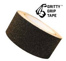 """Gritty Grip Tape - Anti Slip Traction Tape (2"""" x 196"""") Black"""
