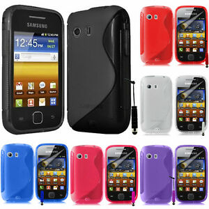 Schutzhülle für Samsung Galaxy Y Neo GT-S5360 Silikon Flip Case Cover Etui