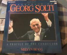 GEORG SOLTI Portrait of a Conductor {1987} MINTD LASERDISC PA 90310